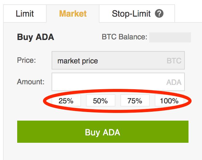 Buying-Cardano-Percentages