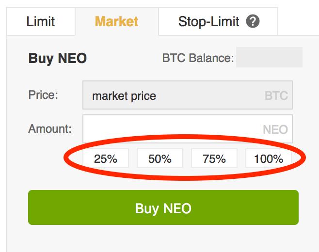 Neo percentages